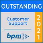 Outstanding Customer Support Pulse Rating