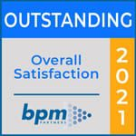Outstanding Overall Satisfaction Pulse Rating